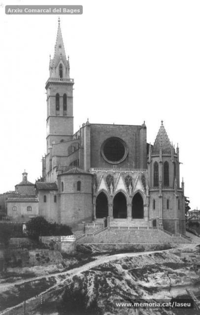 56. La Seu. Torre 1 Facana de ponent reformada IMATGE B