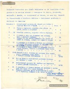 11/12/1936.Despeses  generades per Lluís Rubiralta amb motiu de la tasca de salvament del patrimoni religiós