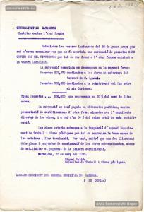 25/3/1937. Ofici de la Generalitat a l'alcalde de Manresa en què es notifica la concessió d'una subvenció