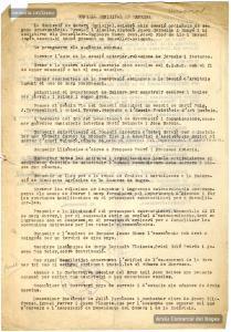 24/4/1937. Acta d'una reunió de la comissió de govern de l'Ajuntament de Manresa