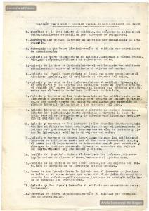 30/9/1937. Informe sobre l'estat dels edificis religiosos, emès per l'Ajuntament.