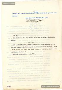 4/11/1936. Dictamen de la comissió de Foment i Treball de l'Ajuntament