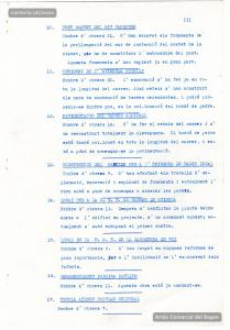 Informe de l'Ajuntament en què es relacionen les obres que porten a terme els 520 operaris de les brigades d'atur forçós